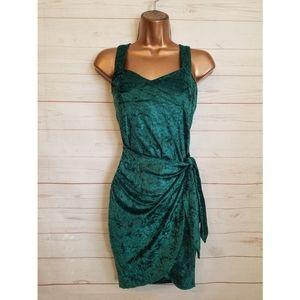 Vintage 80's Velvet Cocktail Dress | Size 3 🎄